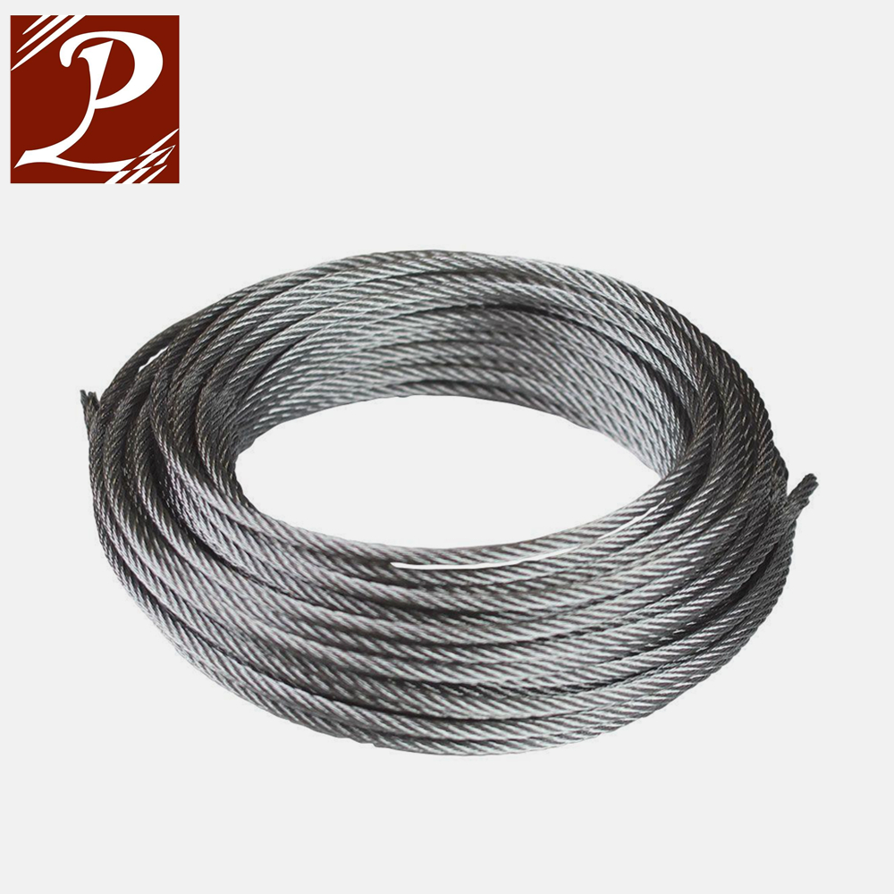 China wholesale merchandise hot dipped galvanized steel wire rope for acsr