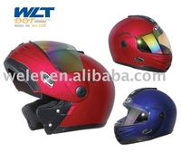 Motor part flip up helmet