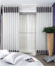 European type of office window curtain fancy door curtain