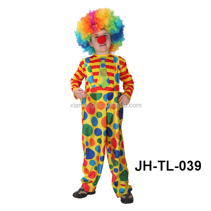 Fancy Dress Washable Halloween Party arabic clown dress