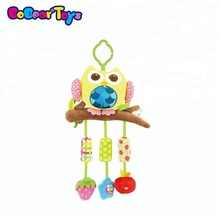 BobearToys giant stuffed owl toy wind chimes baby musical hanging toys plush stuffed <strong>animals</strong> for babies