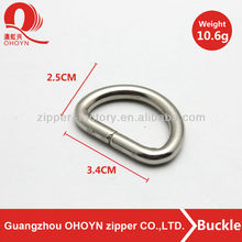 factory wholesale prices d shape buckle ring
