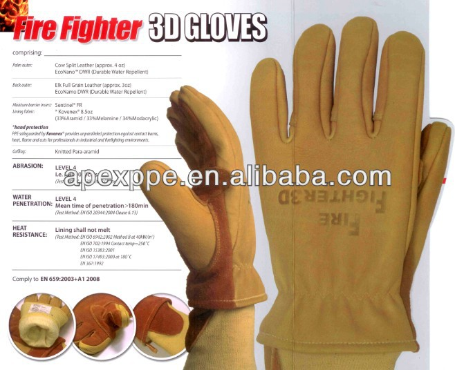 Fire Fighter 3D Glove