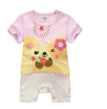 Spring and autumn Newborn baby suit cute baby romper boutique clothing wholesale