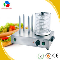 hot dog spike/hot dog maker machine/hot dog maker with heating spike