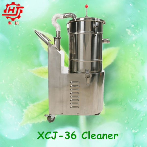 Low noise new stainless steel auto vacuum cleaner for filling machine XCJ-36