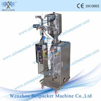Automatic liquid water pouch filling sealing packing machine price for triagle bag