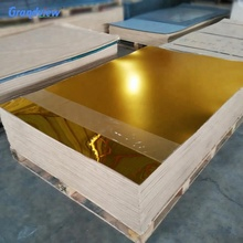 silver golden  mirror acrylic perspex sheet for decoration