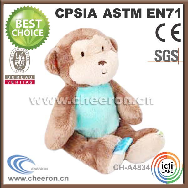 Lovely Long Arms And Legs Monkey Plush Toy With T Shirt