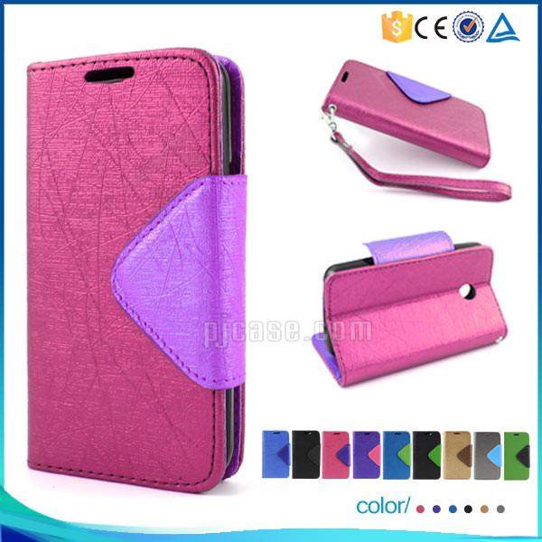 Wholesale lady wallet style leather case flip cover for Asus Zenfone Zoom ZX550 ZX551ML case