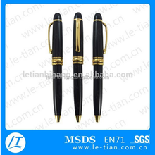 MP-207 2015 promotional metal pen with logo, pen metall black