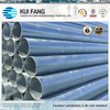 "Hot dip galvanized steel pipe BS 1387 water pipe EN 10255 6 "" (168.3MM)"