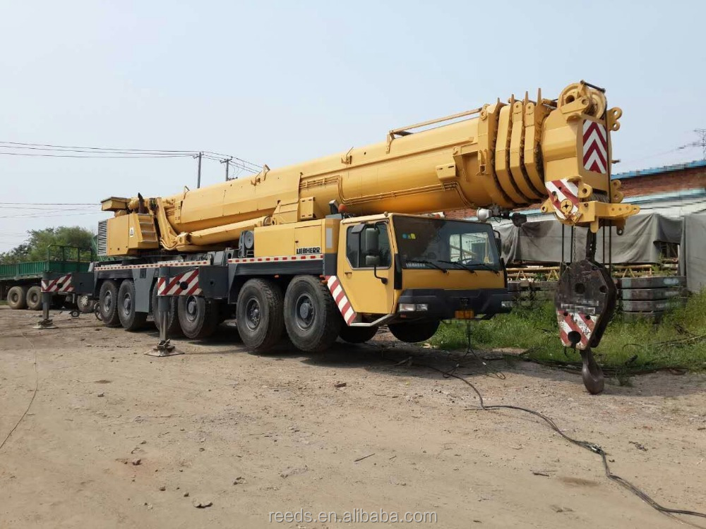 Cheap Used 300 ton mobile truck crane, Liebherr LTM 1300 mobile truck crane for sale