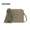 Green Leather Best Small Crossbody Purses Shoulder Handbags Crossover Bags for Teenagers On Sale