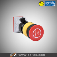ATEX & IECEX certified Explosion proof Emergency Stop push button pull to release
