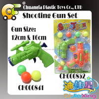 Plastic shooter games cheap pingpong ball gun toys game for kids