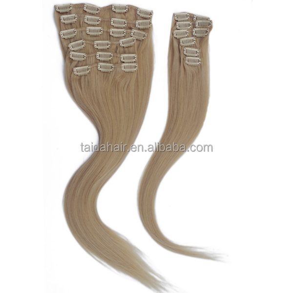 Net Hair Weight 100g Most Hotasle Remy Clip In Hair Extension.