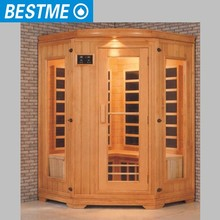 BESTME dry type solid wood cheap indoor personal steam room