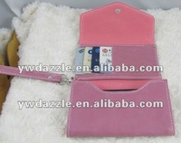 stylish mobile phone wallet case with card compartment