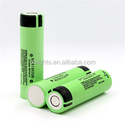 Original imported Lithium Ion NCR18650B 3400mAh 3.6V 18650 battery