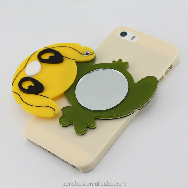 cheapest cartoon animal mirror phone case for iphone 6