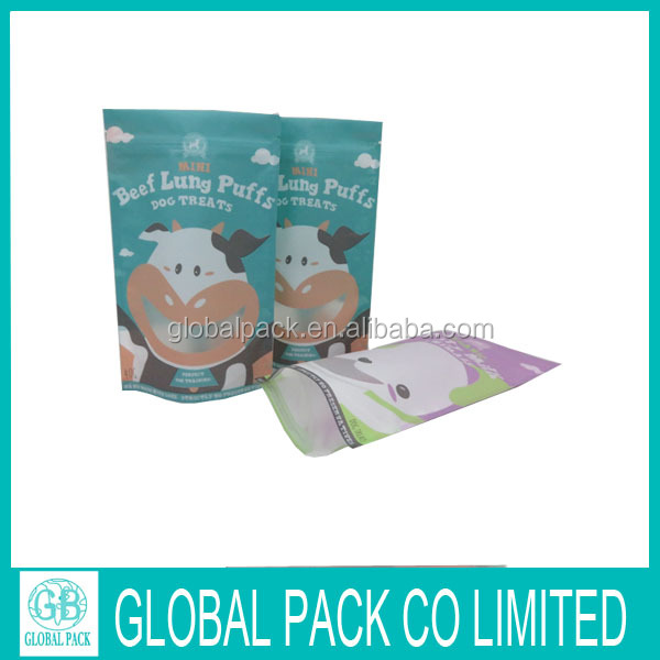 custom printed nylon small storage snack food packaging bag