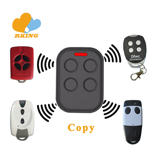 Garage Door Multi Frequency Rolling Code Remote Control Duplicator Face To Face
