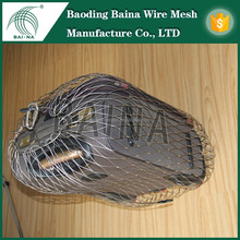 Metal Inox Rope Mesh for Anti-theft Bag Security System