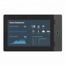 Black Color Wall Mounted <strong>10</strong> Inch Industrial Automation Control Panel With RFID NFC Reader