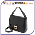 2016 Black PU Leather Lady Handbags Fashion Bags