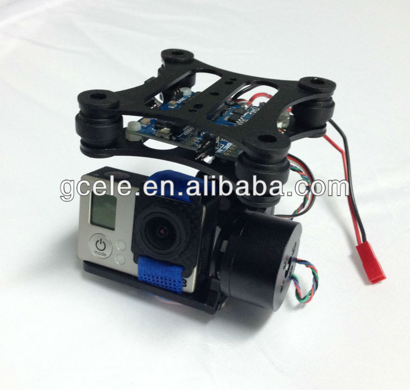 2 Axis Brushless Gimbal For GoPro 3 with 2pcs gimbal motors (with control board)