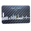 2017 New 3K Twill or customized 100% carbon fiber business cards