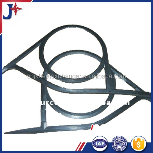 compressor cooling brazed heat exchanger staninless steel 316L M6-M plate &gasket for sale