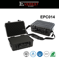 Hard equipment case Sturdy Plastic case Waterproof tool box with foam