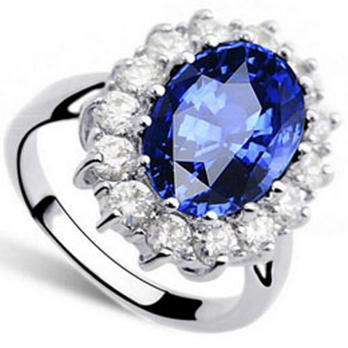 CZ Stone Princess Ring