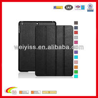 Charming Slim Style Smart cover case for ipad air 2 Black leather, for ipad air 2 case wholesales