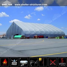 30x50m PVC Film Tarpaulin Industrial Hall Tent with clear span structures workshop tent