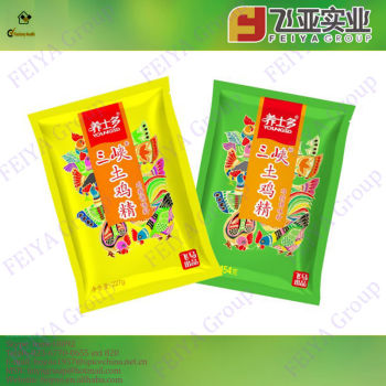 Top-grade granulated chicken bouillon