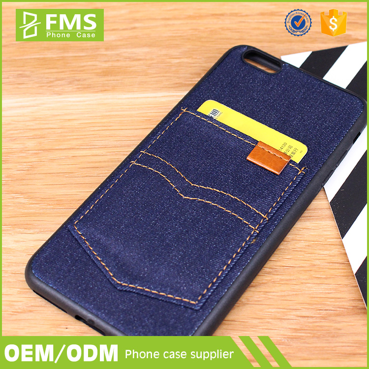 Most Popular Jeans Pocket Phone Case,Jeans Mobile Case,Cell Phone Case With Pocket For Card