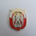 United Arab Emirates souvenir eagle badge icons,UAE national emblem gold metal custom pins badge