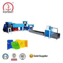 plastic granules making machine from waste pp pe yarn