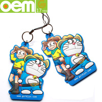 promotional silicone keychain cheap custom rubber souvenir key chain