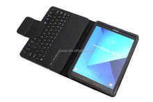 2017 Newest Wireless Bluetooth Keyboard PU Leather Stand Cover Case For SAM Galaxy Tab S3 9.7inch T820 T825