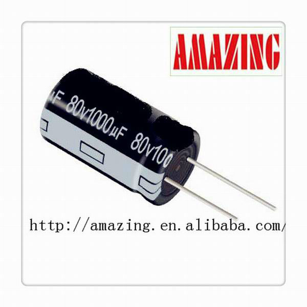 Axial Lead capacitor High Current 6.3v 47uf