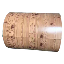 Wood grain/camouflage/flower/brick/marble design pattern printed prepainted galvanized/PPGI steel coil sheet