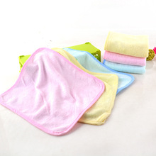 wholesale Alibaba bamboo softtextile fabric towels,100% Organic Bamboo terry baby Washcloths, Baby Face Towel promotion gift