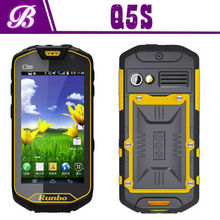 New Arrival MTK6589 Quad Core Back Camera 8.0MP 4.5 Inch IPS Screen RUNBO Q5 Rugged Waterproof Cell Phone