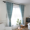 Low price Flame Retardant customized hotel window curtain