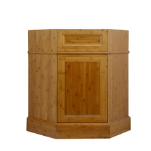 bamboo bathroom cabinet /wall mounted corner bamboo wall corner cabinet/vanity in bathroomfor sale