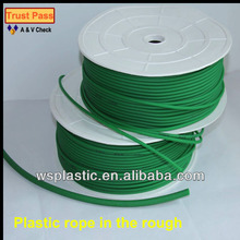 high quality pu plastic rope in the rough